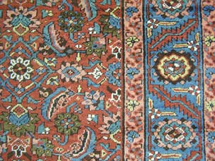 Bakshaish carpet - 430 x 193cm