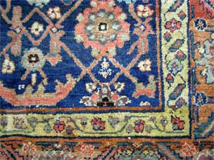 Kurdish gallery carpet  296 x 162cm (reduced in size)