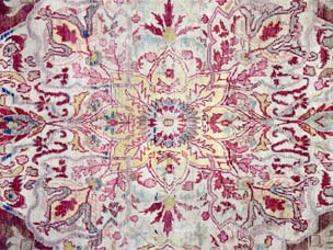 Kirman 'Ravar' carpet 440 x 268cm