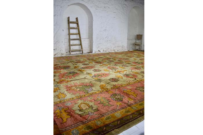 Donegal Arts & Crafts carpet 650 x 380cm