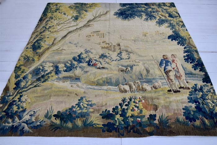 Aubusson tapestry panel 228 x 210cm