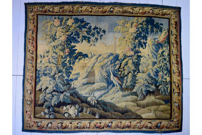 Flemish or French Verdure tapestry 300 x 240cm