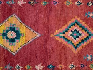 Moroccan rug 234 x 123cm