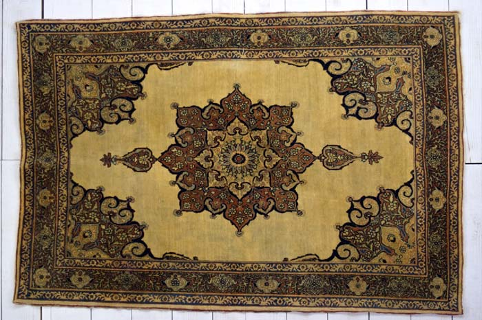 Pair of Haji Jalili rugs, each approximately 170 x 110cm