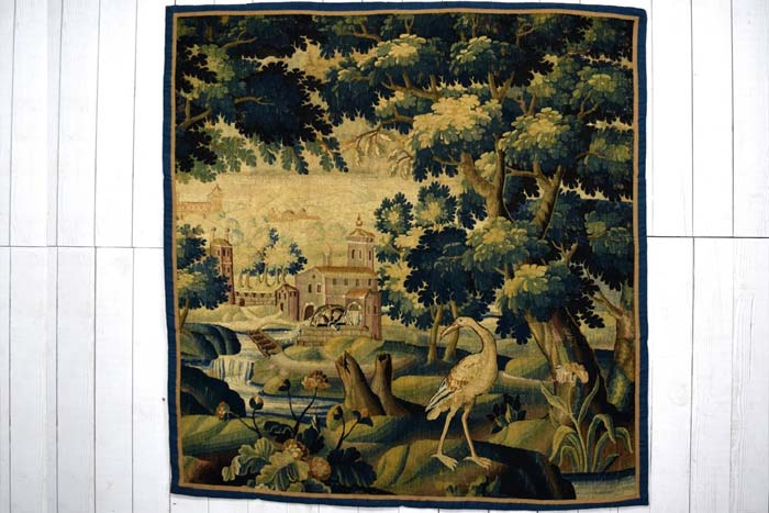 Aubusson Tapestry panel 189 x 182cm