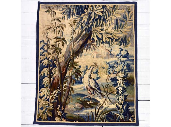 Aubusson Verdure tapestry panel 149 x 122cm
